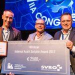 Jeroen-Paul Haasnoot wint Internal Audit Scriptie Award 2017